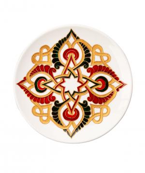 "Plate ""Taraz Art"" decorative, ceramic №6"