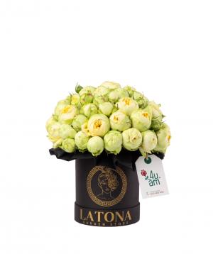 """Композиция """"Артемис"""" с букетными розами"""