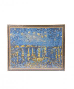 Collection `Bonasens` art, Starry Night Over the Rhone
