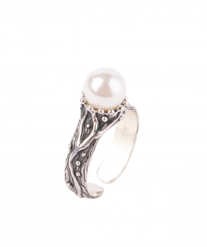 """Ring """"DF Project"""" silver №13"""