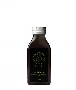 Shampoo ` Hirik Cosmetics'' with mummy and basil essential oil 250 ml