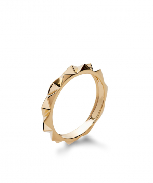 "Ring ""Lazoor"" golden №21"