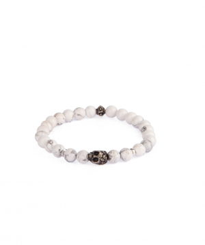 Bracelet `Ssangel Jewelry` men`s №19, with natural stones