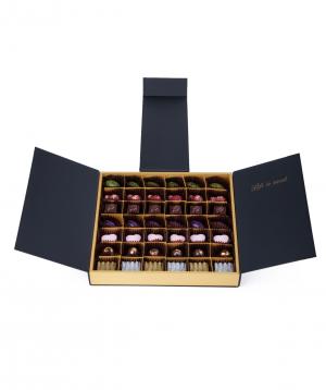 "Chocolate collection ""Lara Chocolate"" black big"