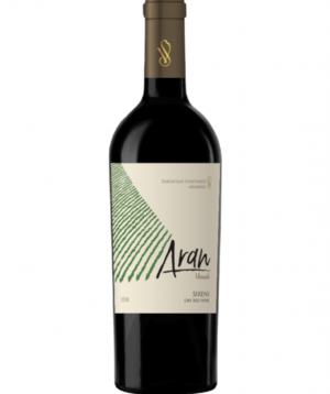Wine `Aran` red dry 750 ml