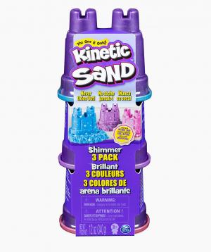 Spin Master Kinetic Sand Shimmer,3 pack