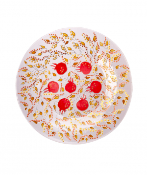 "Plate ""Taraz Art"" decorative, glass №21"
