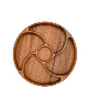 Eco board `WoodWide` circular