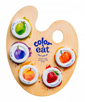 """Collection of jams """"Coloreat"""""""