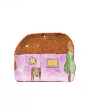 "Plate ""Nuard Ceramics"" House, small №3"