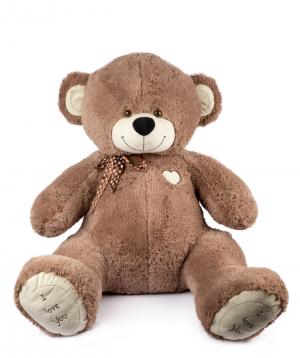 """Bear Teddy """"I love you"""" giant №1"""
