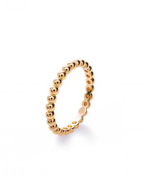 "Ring ""Lazoor"" golden №12"