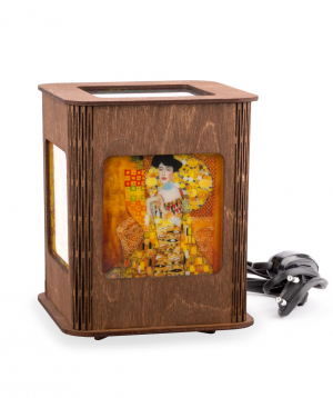 """Lantern """"Portrait of Adele Bloch-Bauer"""" wooden"""