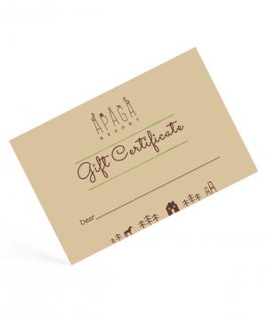 """Gift card """"Apaga Resort"""" horse riding 40 minutes"""