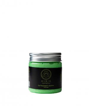Cream `Hirik Cosmetics` exfoliator with rosemary and sage essential oils