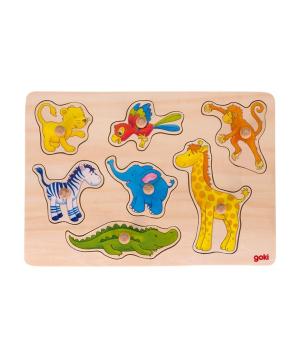 Խաղալիք «Goki Toys» փազլ Safari