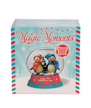 "Collection ""Bonasens"" magic ball penguins big"