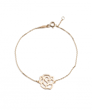 "Bracelet ""Less is more"" gold №2"