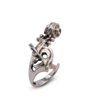 """Ring """"Kara Silver"""" Violin"""