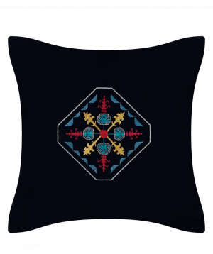"""Pillow """"Miskaryan heritage"""" embroidered with Armenian ornament №35"""