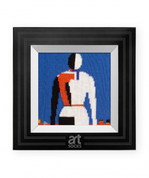 "Socks ""Art socks"" with ""Woman with Rake"" painting"