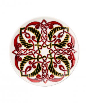 "Plate ""Taraz Art"" decorative, ceramic №9"