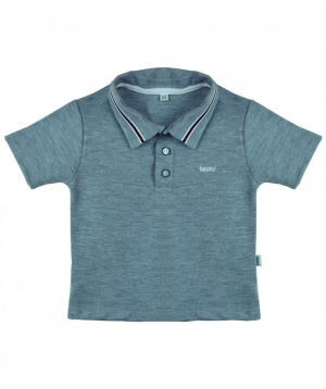 "T-shirt ""Lalunz"" polo gray"