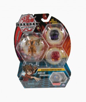 Spin Master Սեղանի խաղ Bakugan «Aurelus Dragonoid», սկսնակների համար