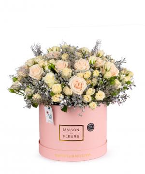 Կոմպոզիցիա «Տրեվիսո» վարդերով