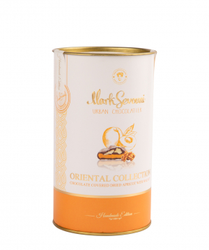 Dried apricot `Mark Sevouni` in chocolate Oriental Chocolate Collection