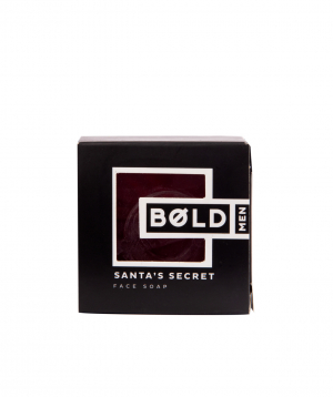 "Soap ""Bold Man"" Santas Secret"