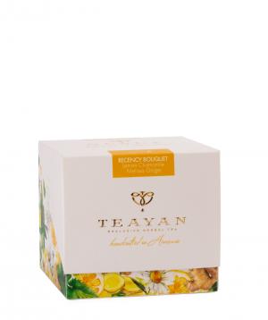 Selected tea `TeaYan` freshness bouquet