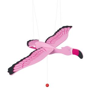 """Toy """"Goki Toys"""" swinging animal Flamingo"""