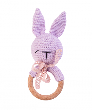 Խաղալիք «Crafts by Ro» չխկչխկան նապաստակ №3