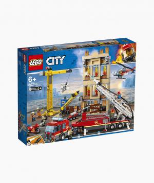 Lego City Կառուցողական Խաղ Կենտրոնական Հակահրդեհային Կայան