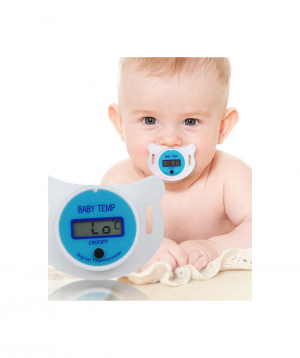 Ջերմաչափ-ծծակ, թվային, Մանկական, LCD,