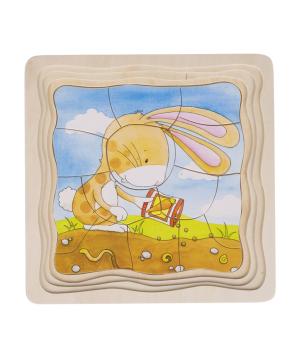 Խաղալիք «Goki Toys» փազլ բանջարանոց