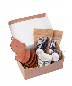 Gift box `Wonder Me` Tea set