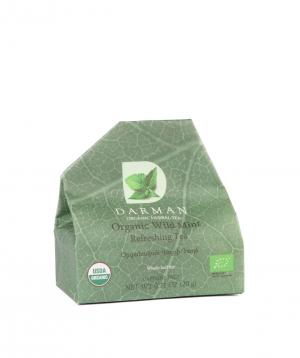 """Tea """"Darman organic herbal tea"""" organic, with mint"""