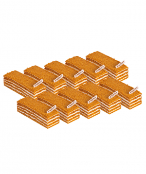Pastry `Parma` with honey 10 pieces