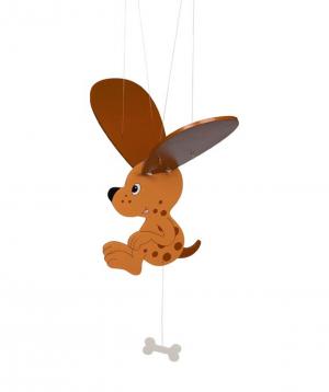 """Toy """"Goki Toys"""" swinging animal Dog"""