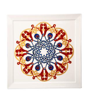 "Plate ""Taraz Art"" decorative, ceramic №15"