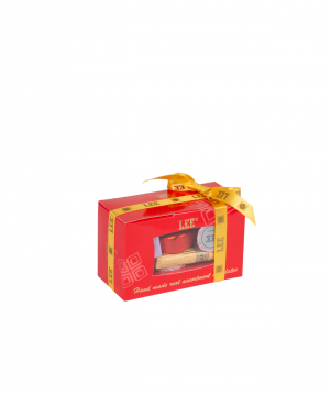 Chocolate candies `LEE` small set, red