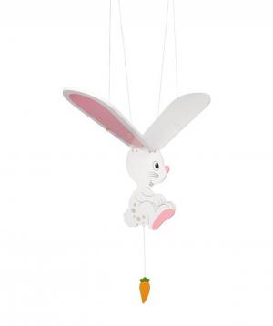 Toy `Goki Toys` swinging animal Rabbit