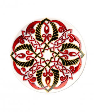 "Plate ""Taraz Art"" decorative, ceramic №5"