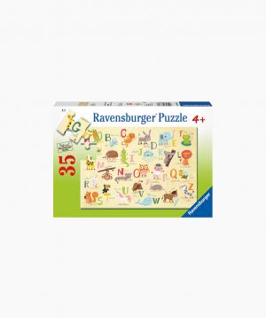 Ravensburger Փազլ «Կենդանիներն՝ այբբենական կարգով» 35p
