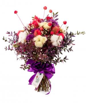 Ծաղկեփունջ «Իգուալա» դաշտային ծաղիկներով