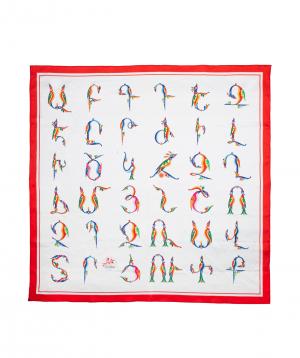 Scarf `Masoor` trchnagir red, small