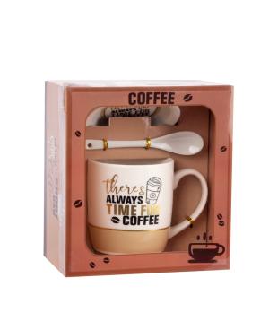 Բաժակ «Always time for Coffee» 350 մլ կերամիկական