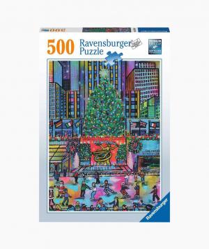 Ravensburger Փազլ «Ծննդյան տոները Ռոքֆելերյան կենտրոնում» 500p